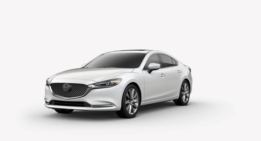 2018 Mazda6, Snowflake White Pearl