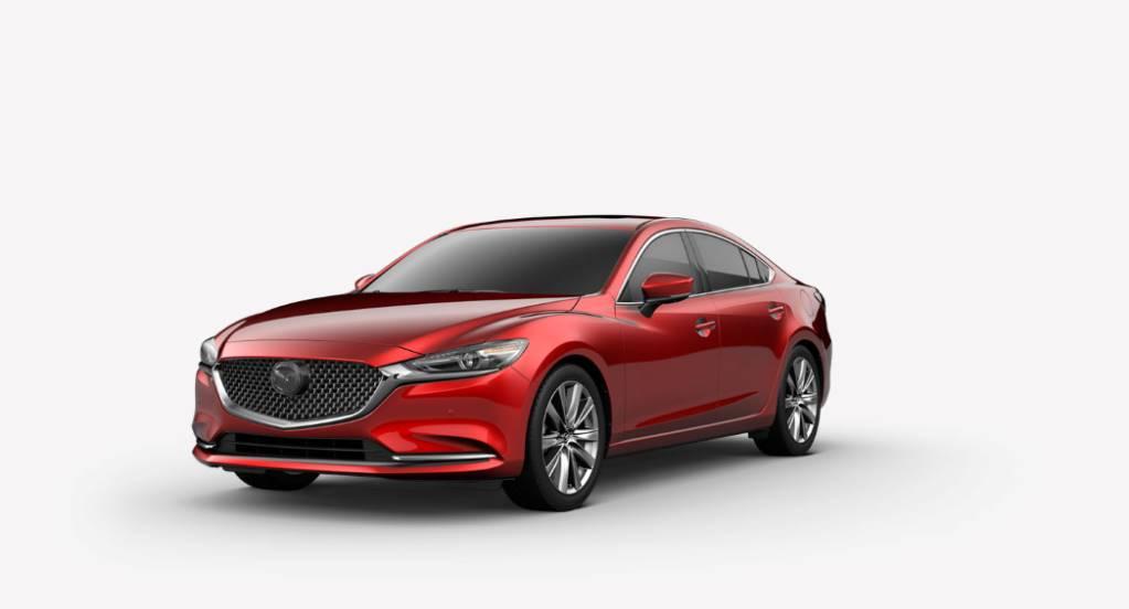 2018 Mazda6, Soul Red