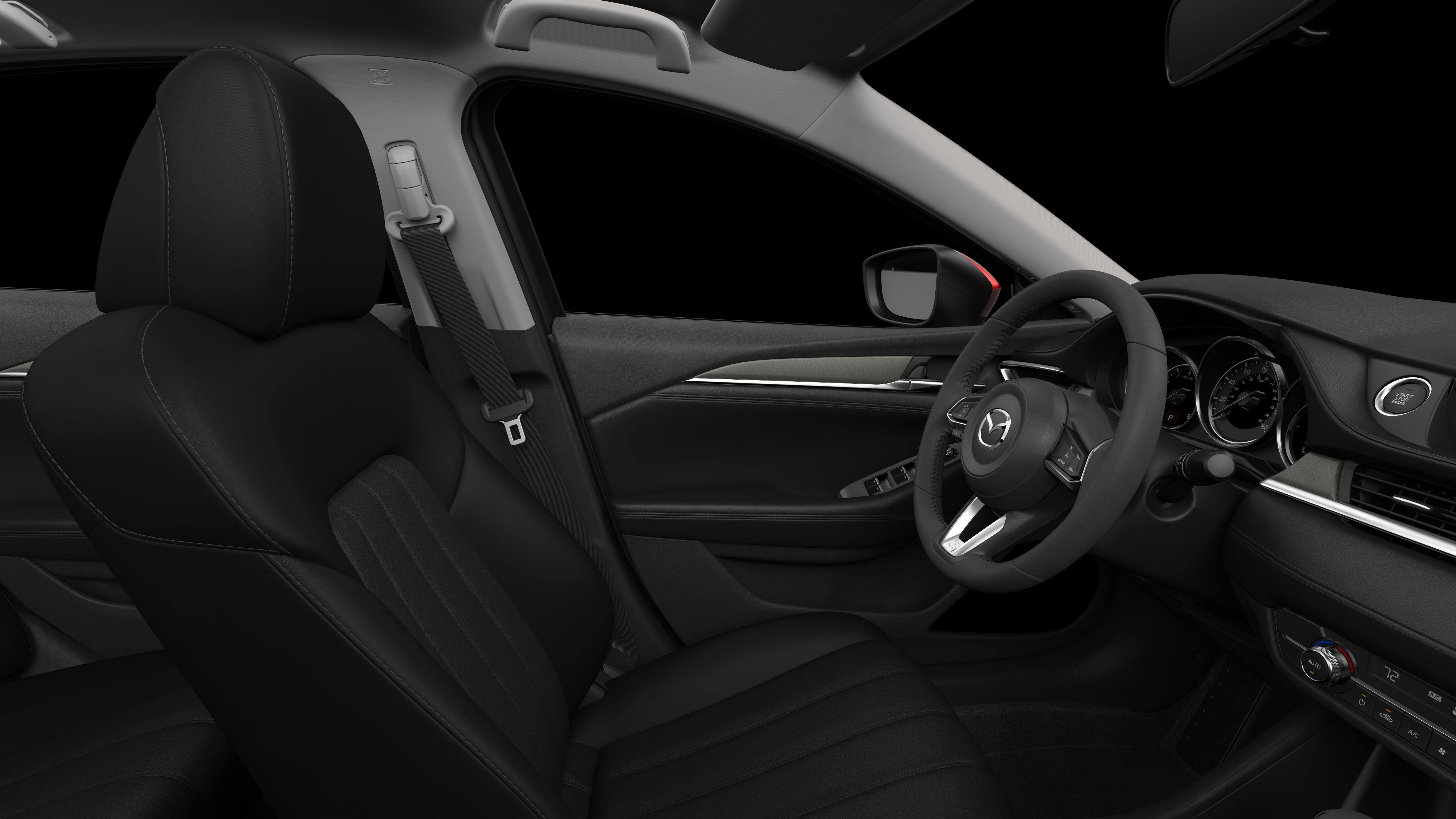2018 Mazda6, Black Cloth