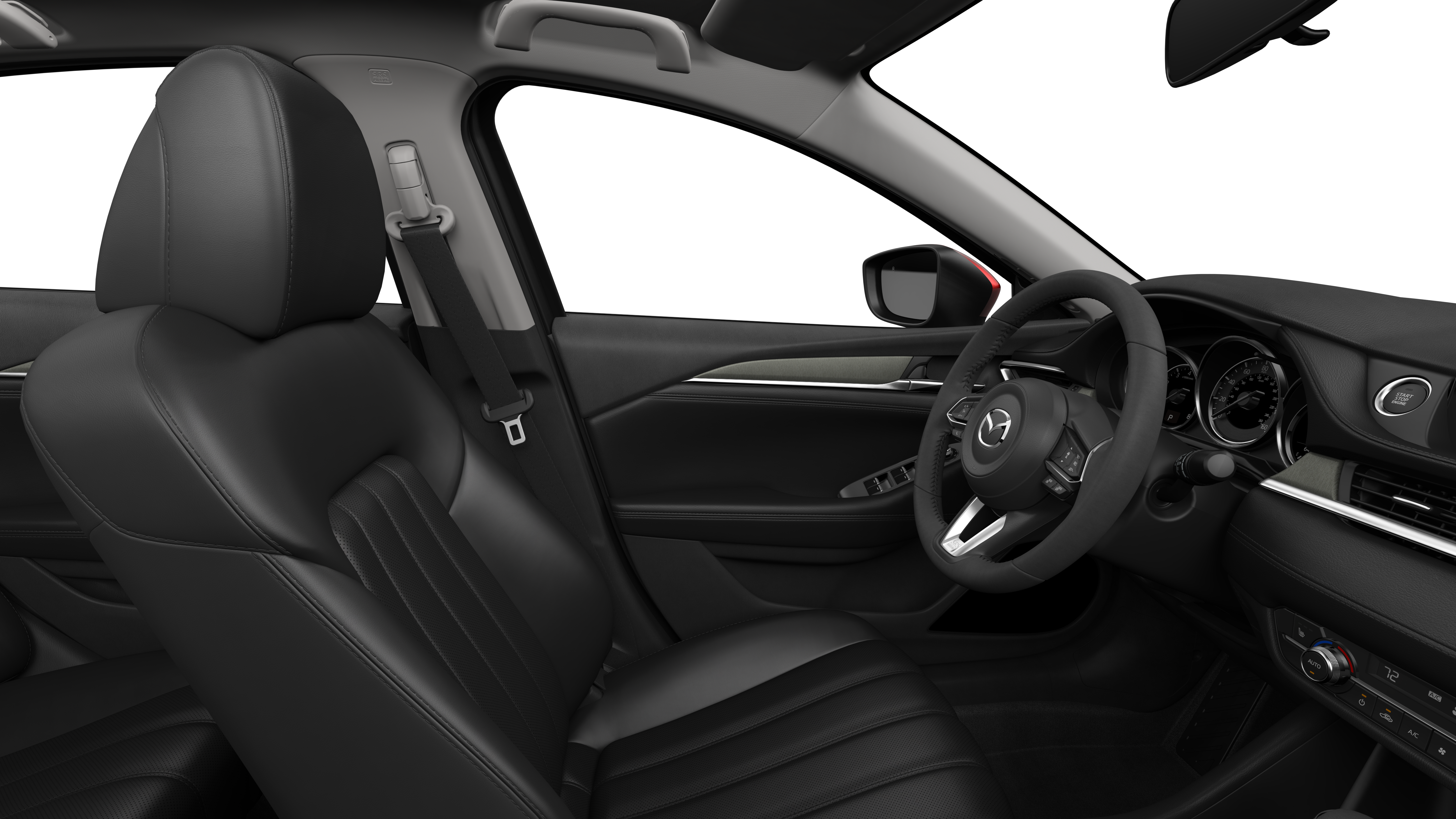 2018 Mazda6, Black Leather