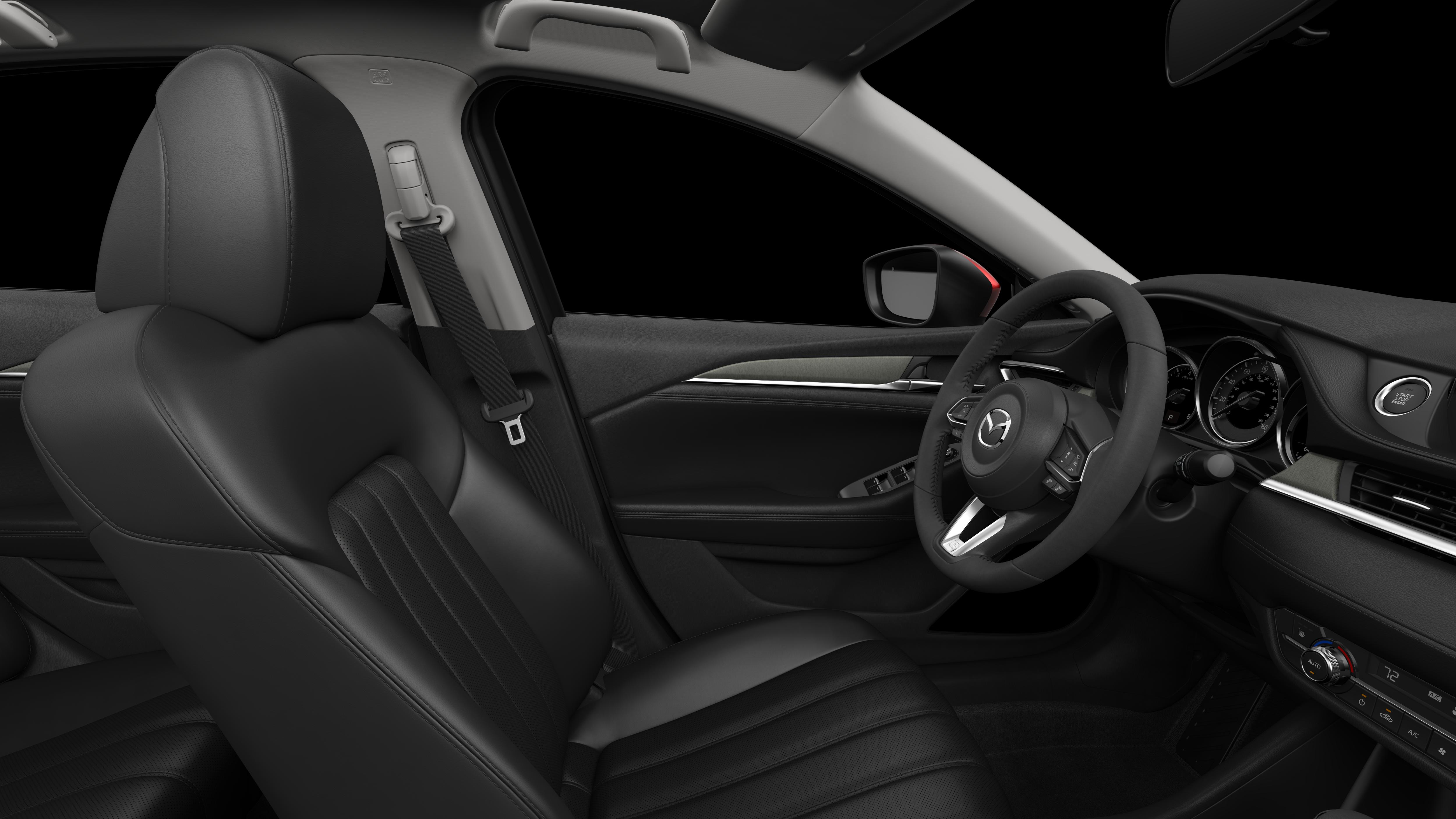 2018 Mazda6, Black Leather