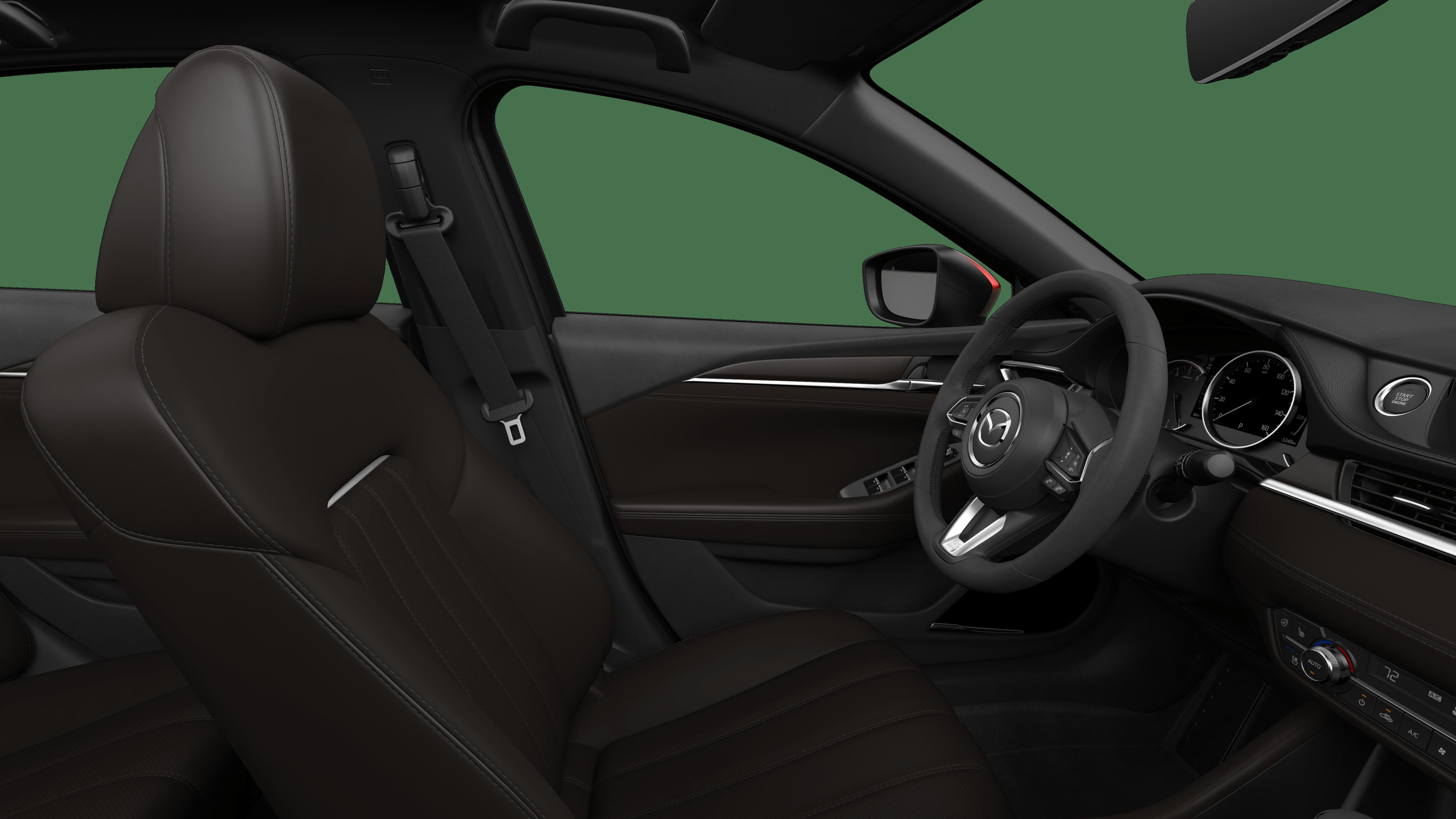 2018 Mazda6, Deep Chestnut Nappa Leather