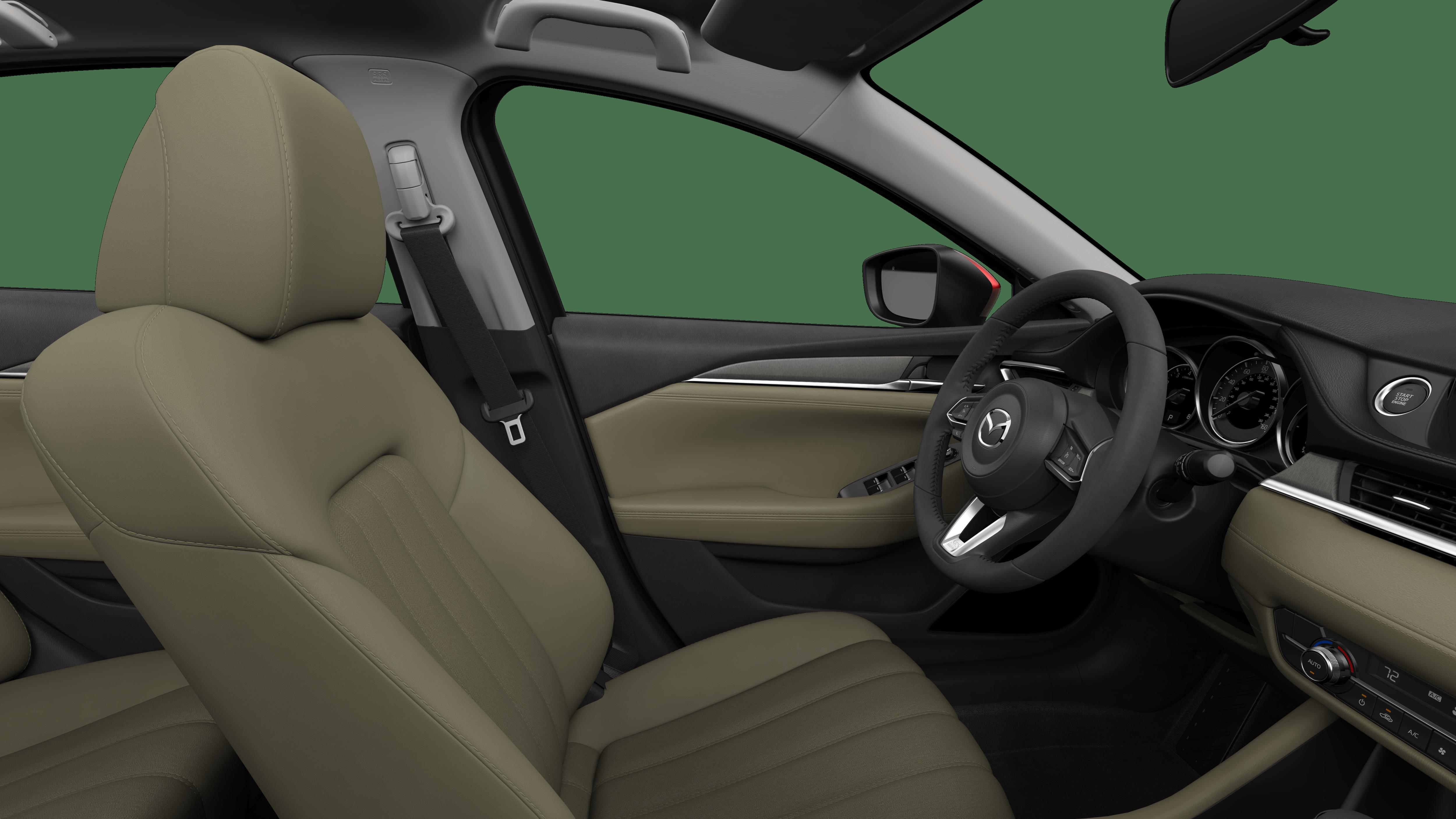 2018 Mazda6, Sand Leatherette
