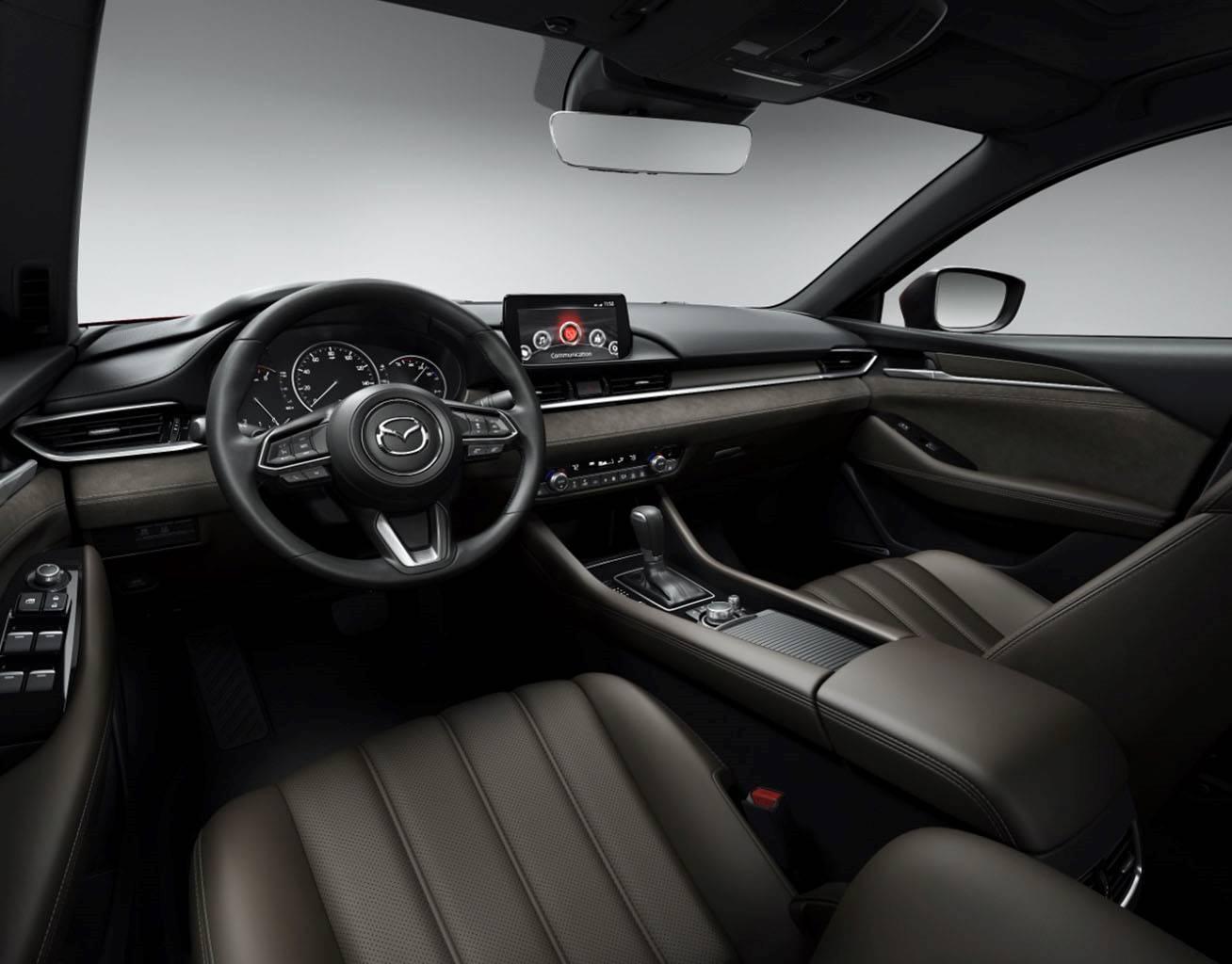 2018 Mazda6, INTERIOR INDULGENCE