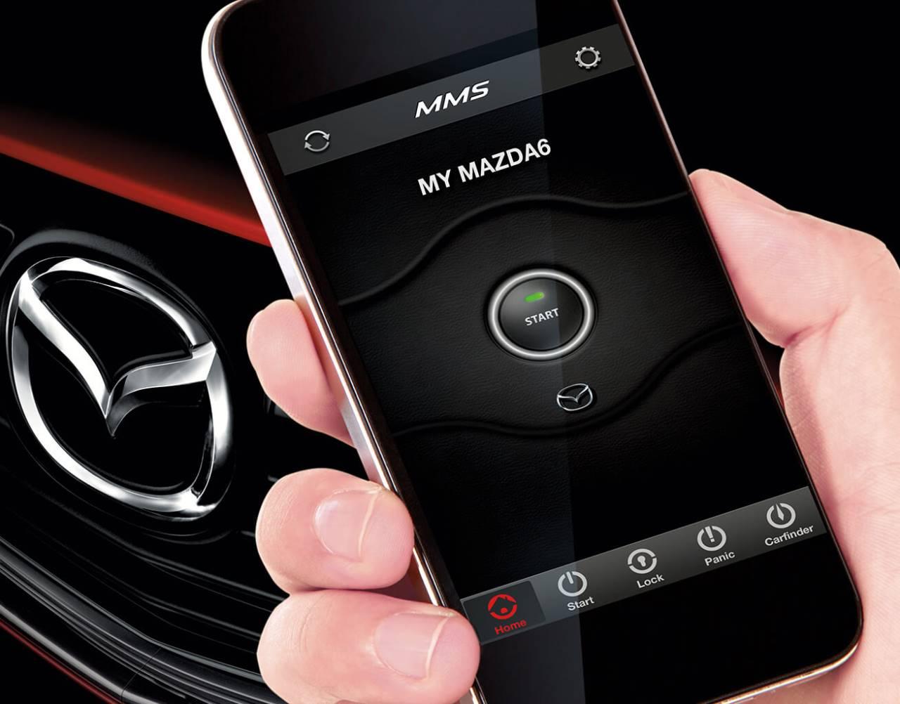 2018 Mazda6, MAZDA MOBILE START<sup>*</sup>