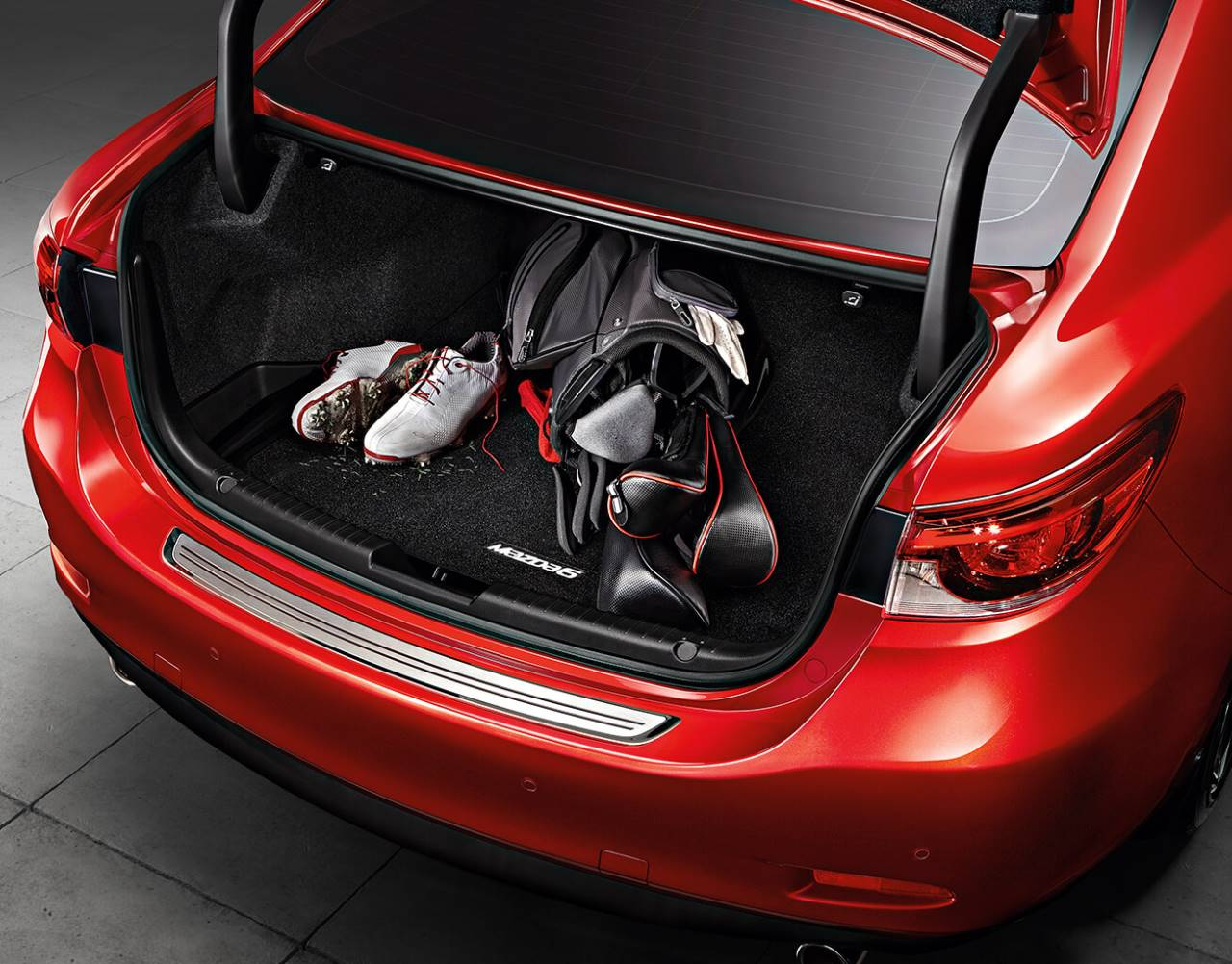 2018 Mazda6, CARPET CARGO MAT<sup>*</sup>