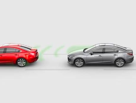 2020 Mazda6, Advanced Smart City Brake Support