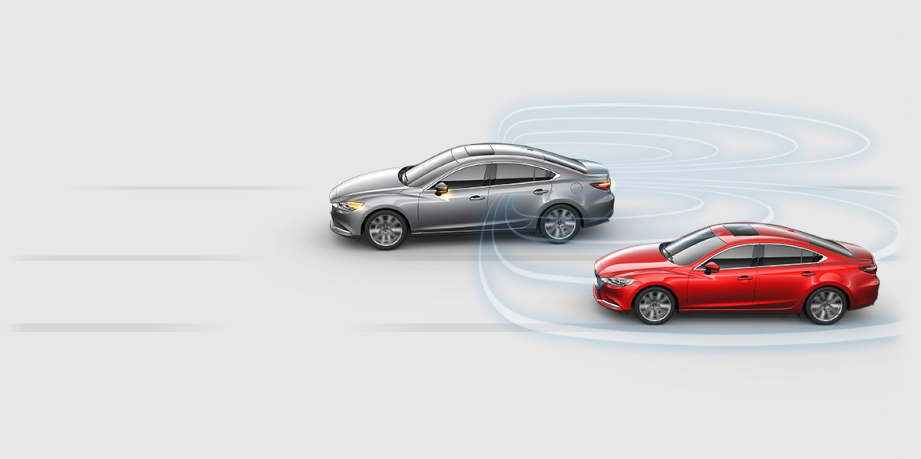 BLIND SPOT MONITORING - Mazda6