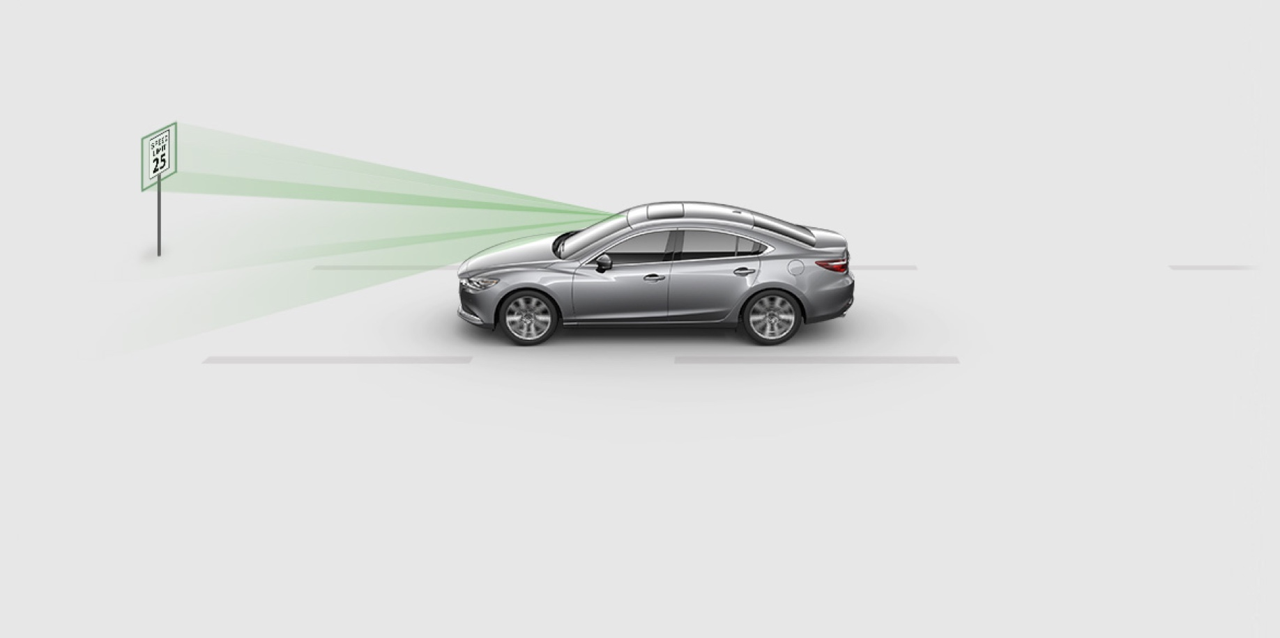 TRAFFIC SIGN RECOGNITION SYSTEM - Mazda6
