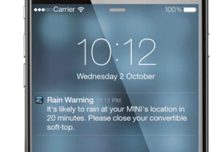 RAIN WARNER