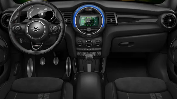 The interior of the MINI Cooper 1499 GT Special Edition.