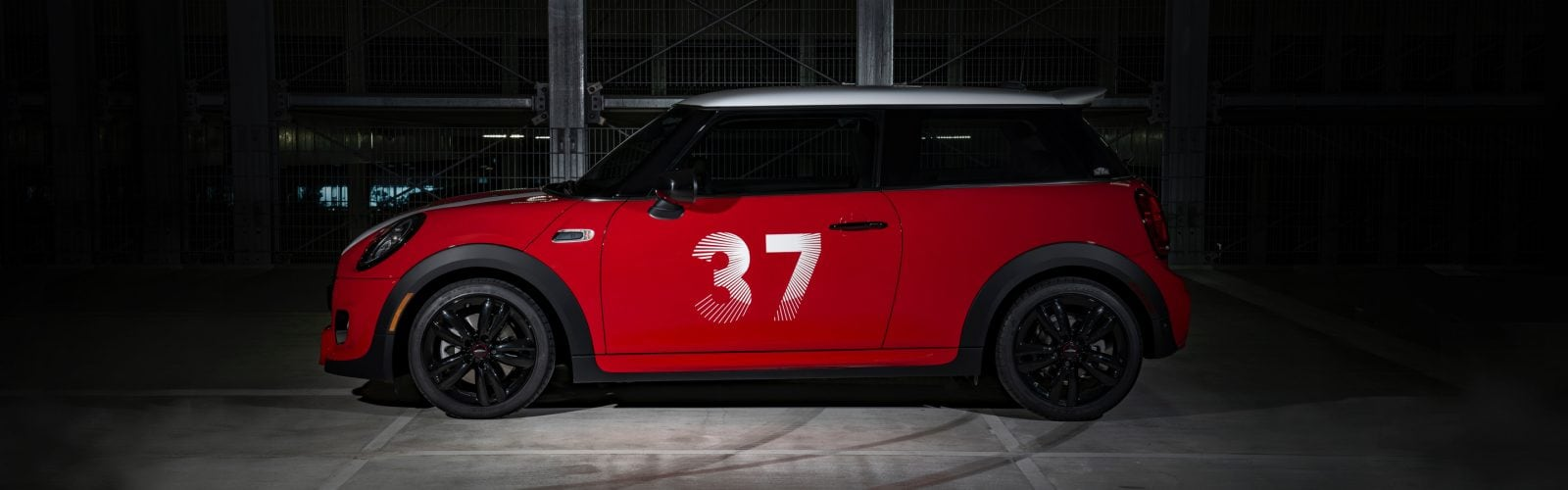 MINI A side view The MINI Cooper S Hardtop 2 Door Paddy Hopkirk Edition #37
