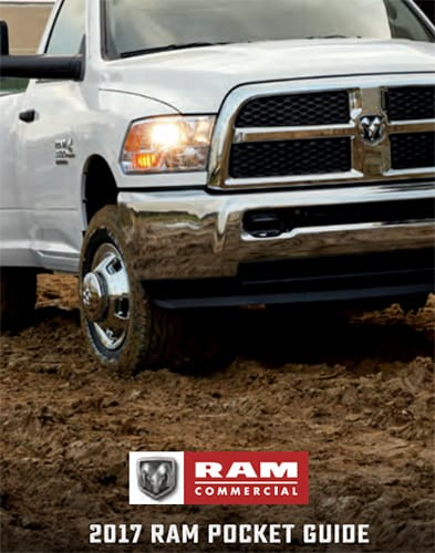 2017 Ram Commercial Pocket Guide