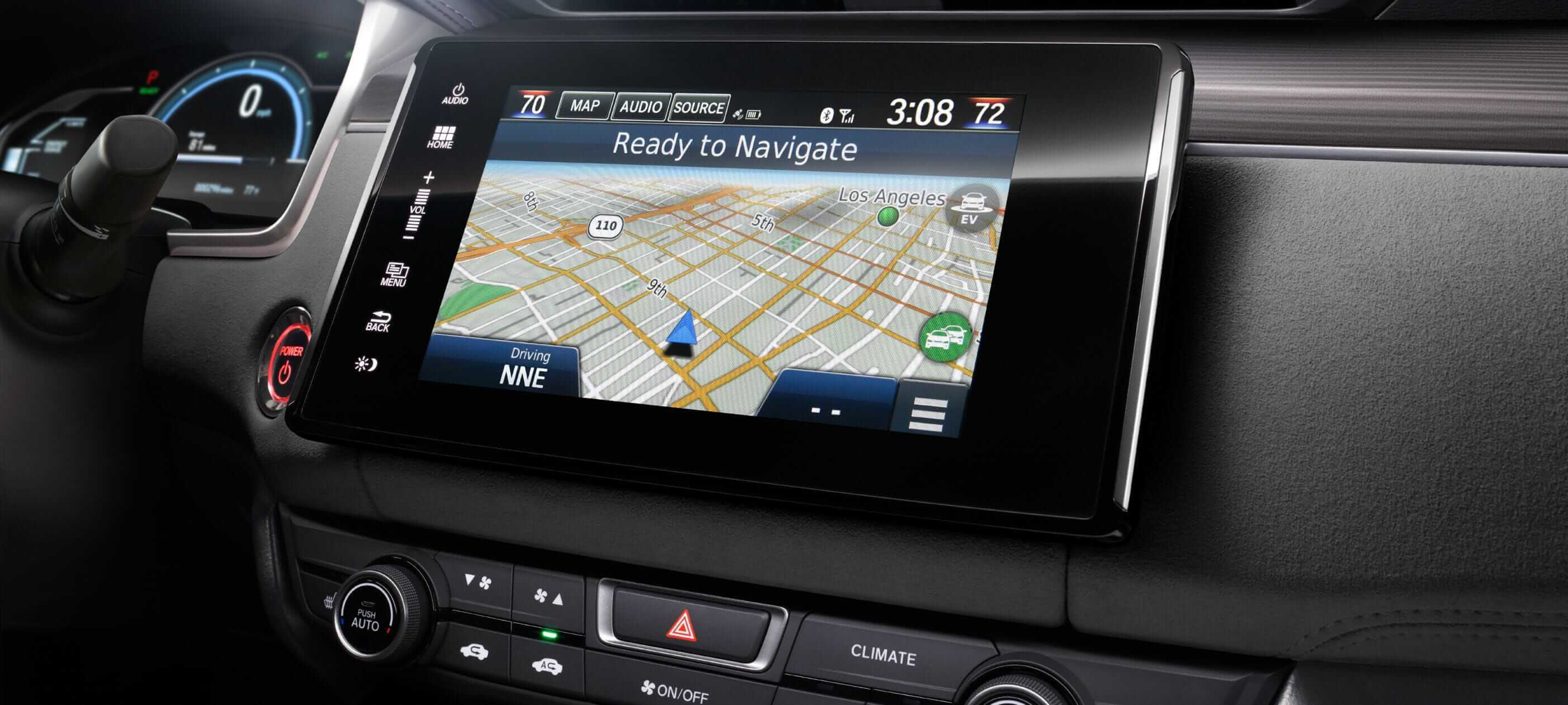 Honda Satellite-Linked Navigation System™