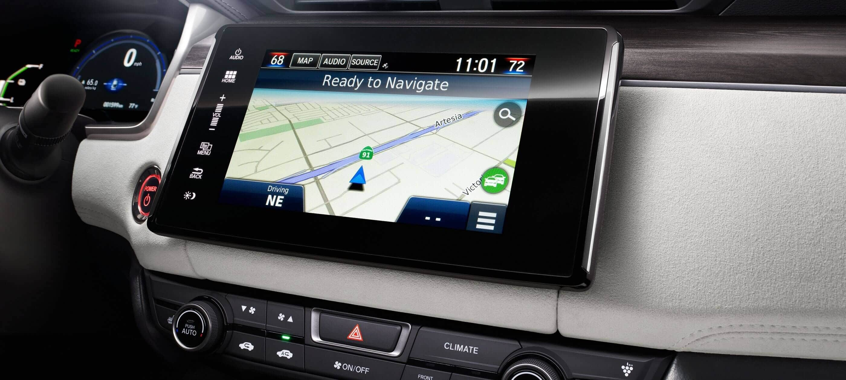 Satellite-Linked Navigation System