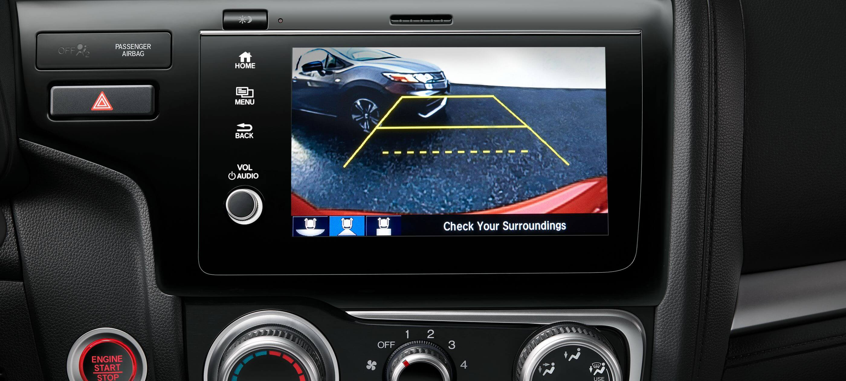 Multi-Angle Rearview Camera