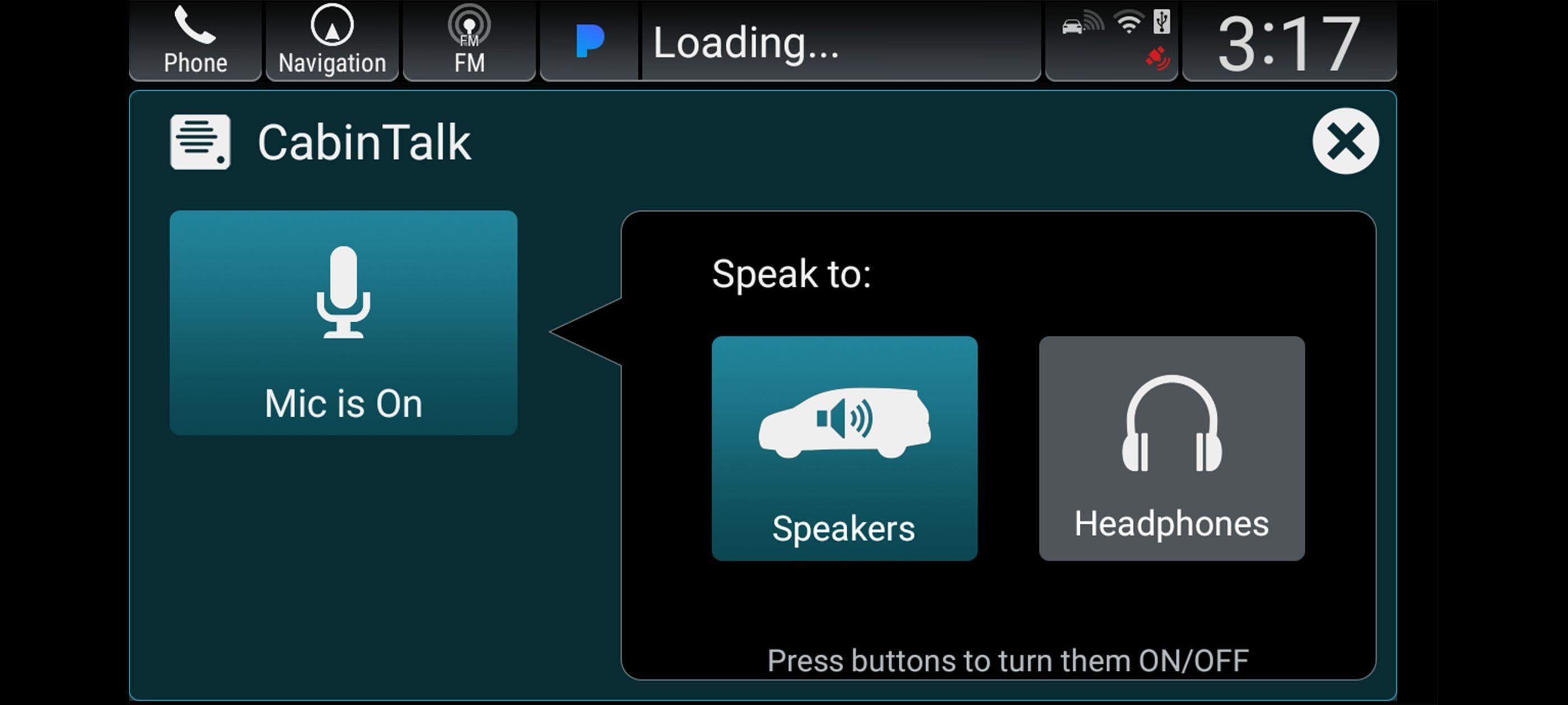 Honda CabinTalk™