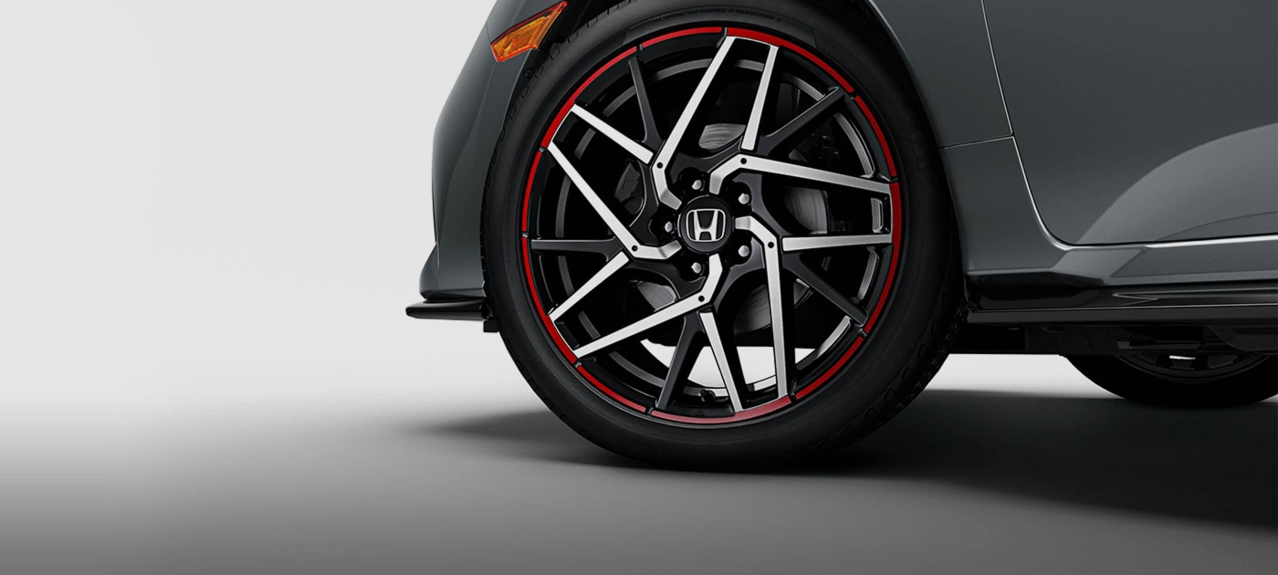 18-inch Machined-Finish Alloy Wheels