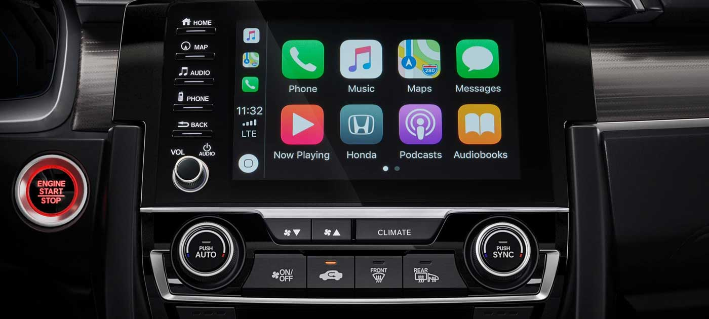 Apple CarPlay™ Integration All Day