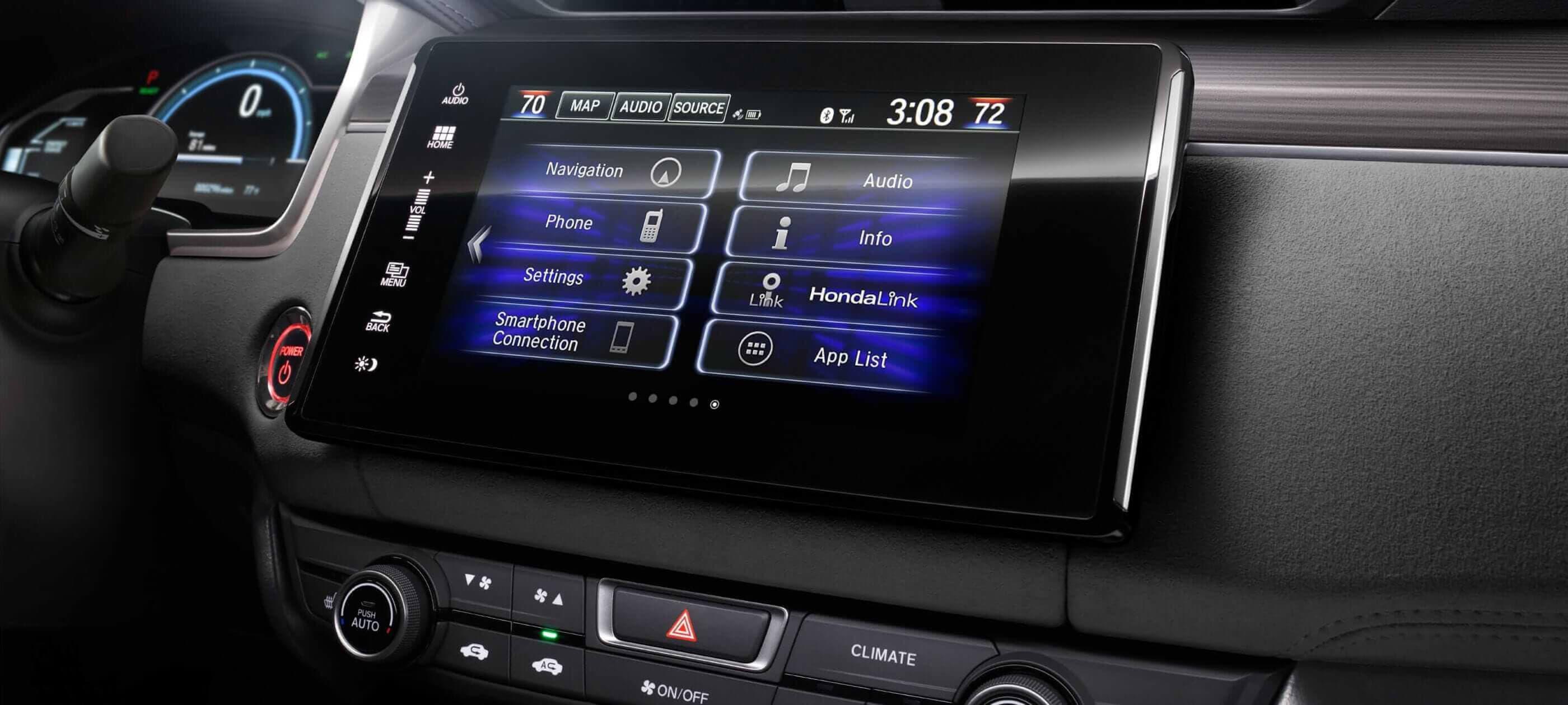 Sistema de Audio en Pantalla Táctil