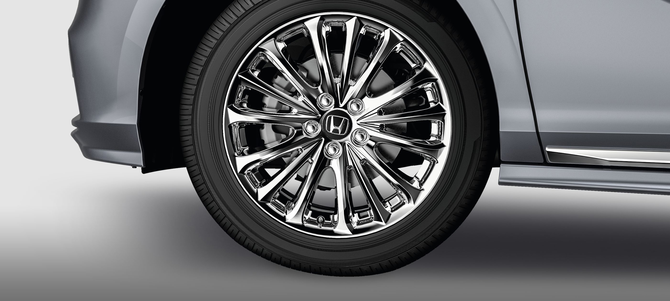 19-in Chrome Alloy Wheels