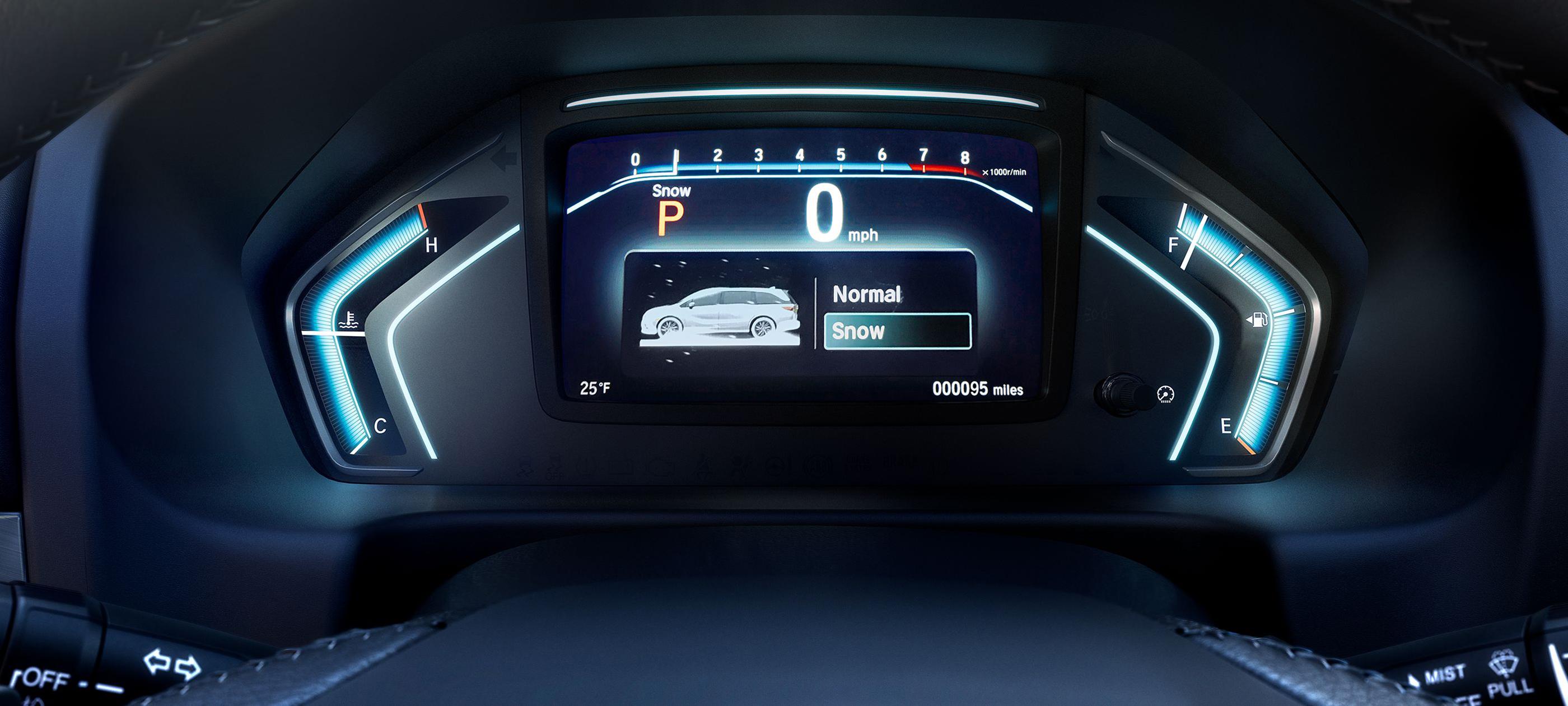 Interfaz digital de información para el conductor