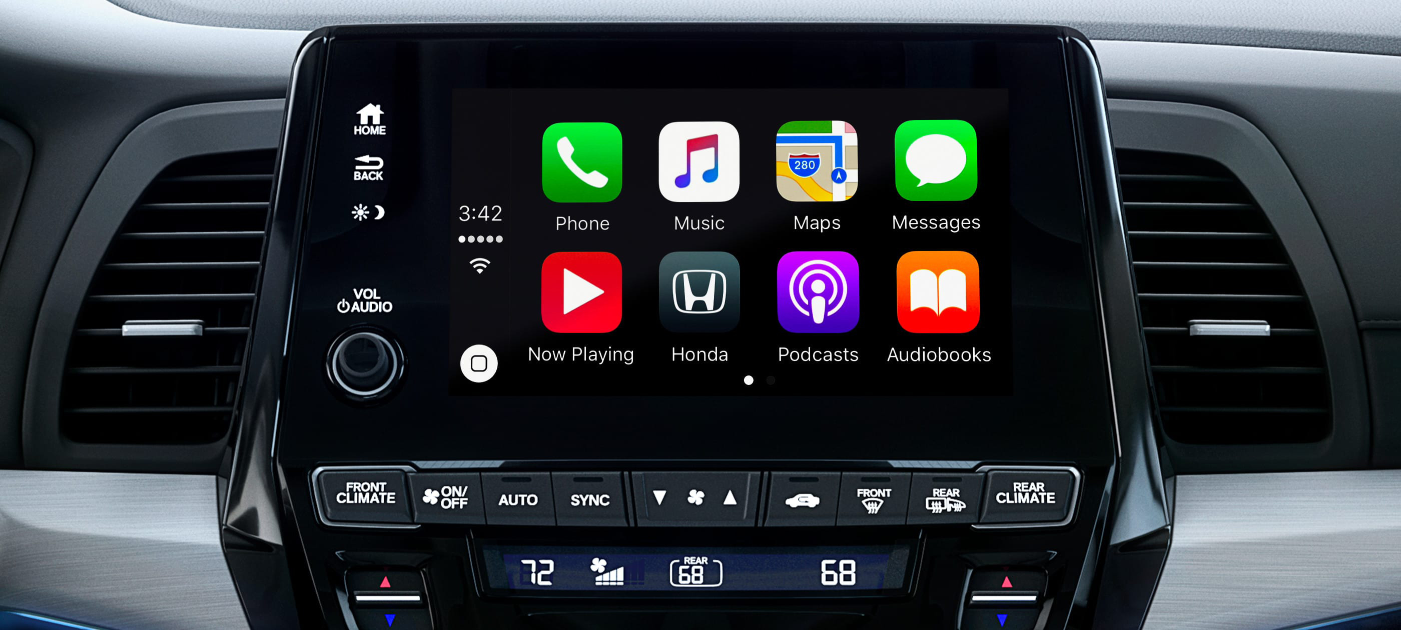 Integración con Apple CarPlay™