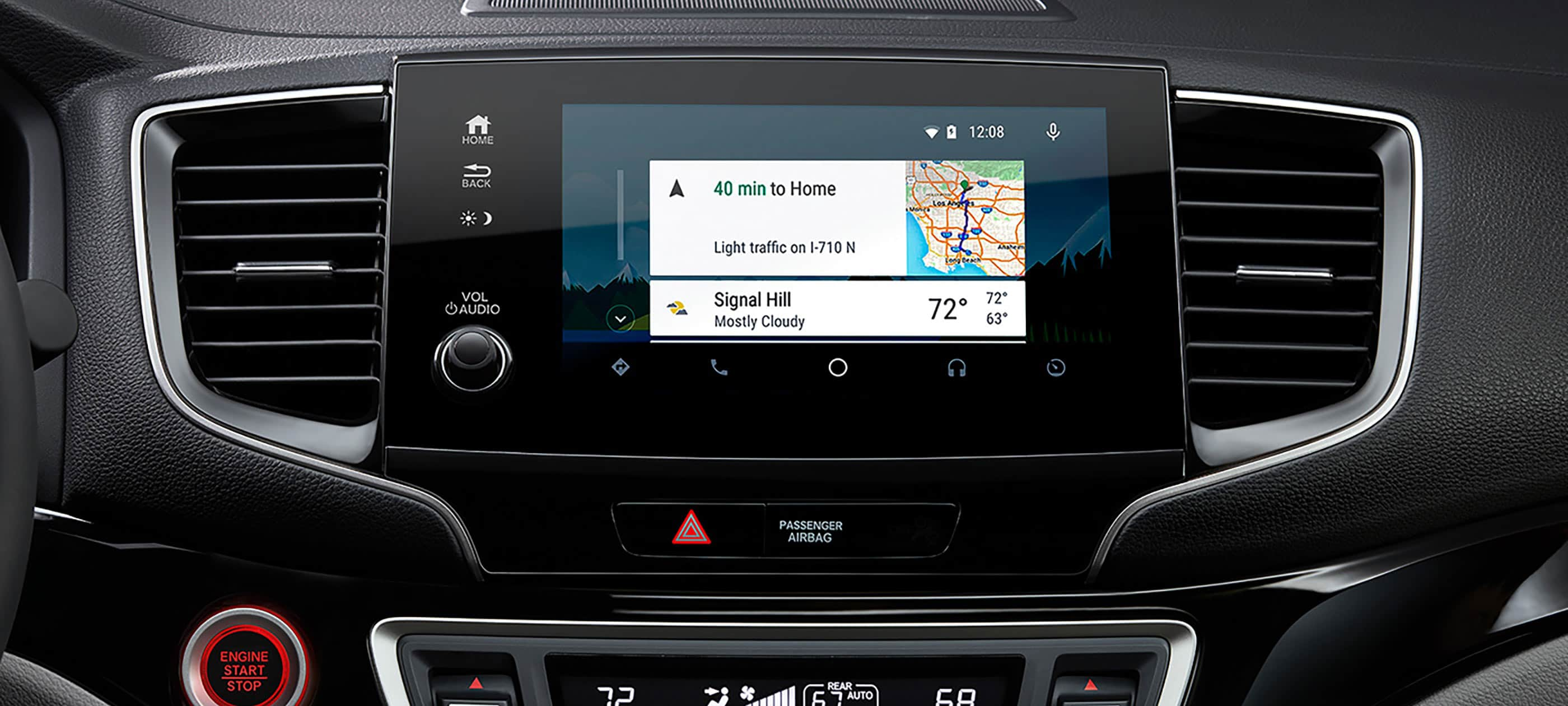 Integración con Android Auto™ Disponible