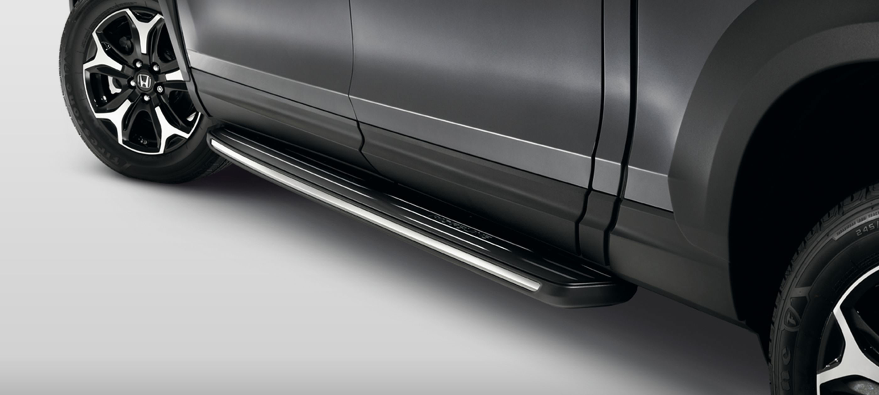 Running Boards with Lights