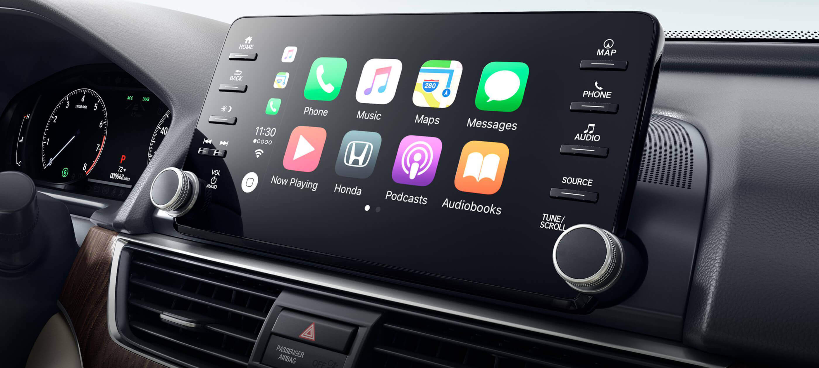 Apple CarPlay<sup>®</sup> Integration