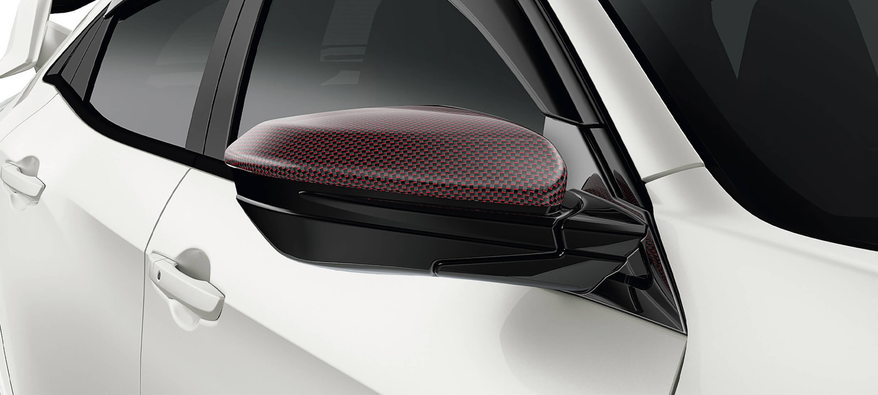 Carbon Fiber Door Mirror Cover