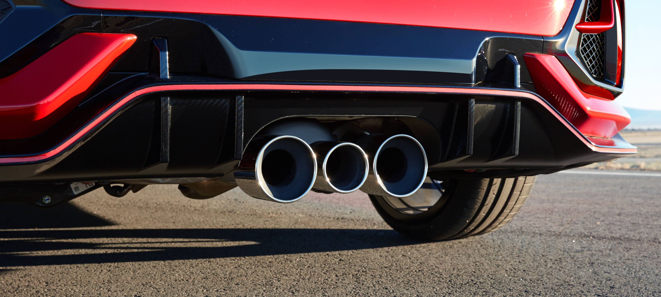 Triple Outlet Exhaust