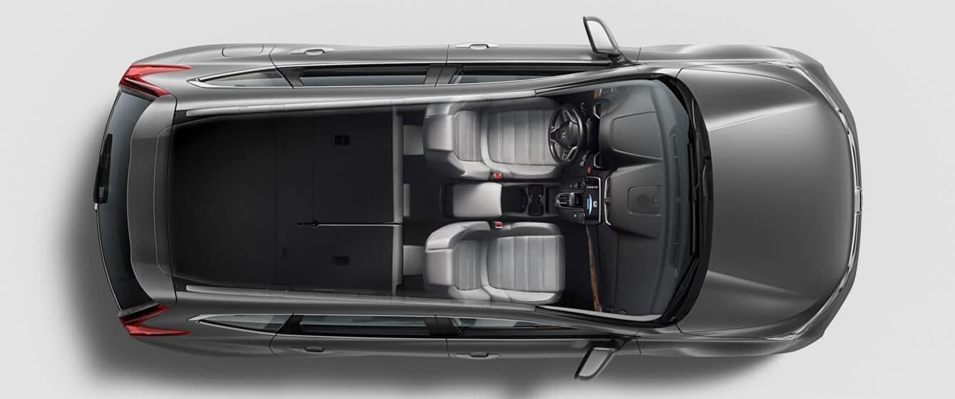 2018 Honda CR-V AWD Interior Seating Overhead Angle