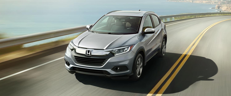 2019 Honda HR-V AWD Exterior Front Angle Driver Side