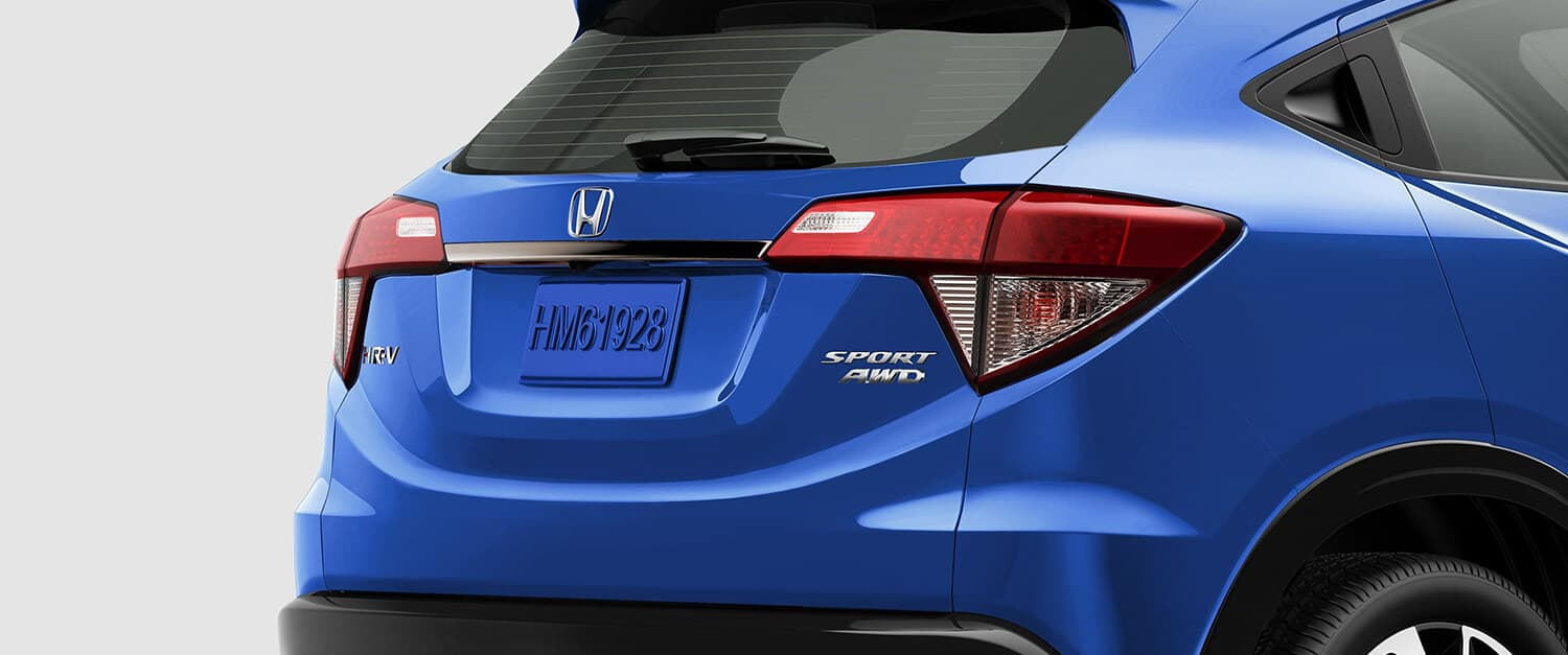 2019 Honda HR-V AWD Exterior Rear Angle Closeup