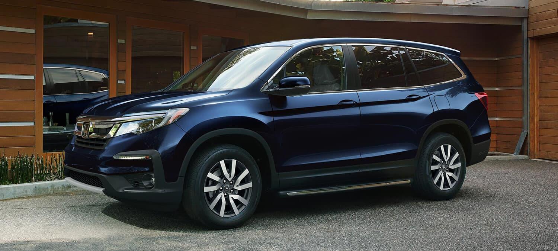 2019 Honda Pilot AWD Exterior Driver Side Blue