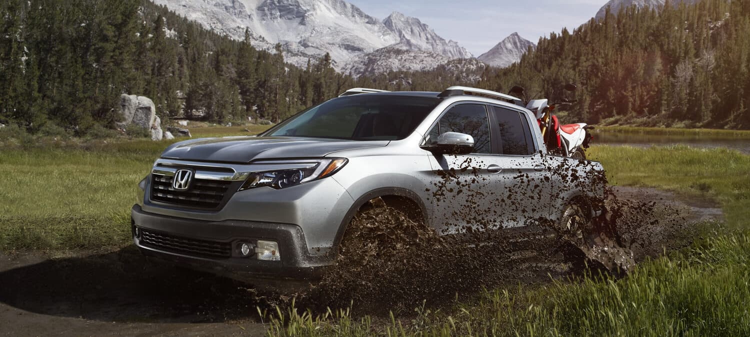 2019 Honda Ridgeline AWD Exterior Driver Side Mountains