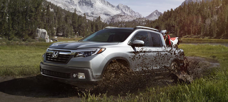 2019 Honda Ridgeline AWD Exterior Driver Side Mountains