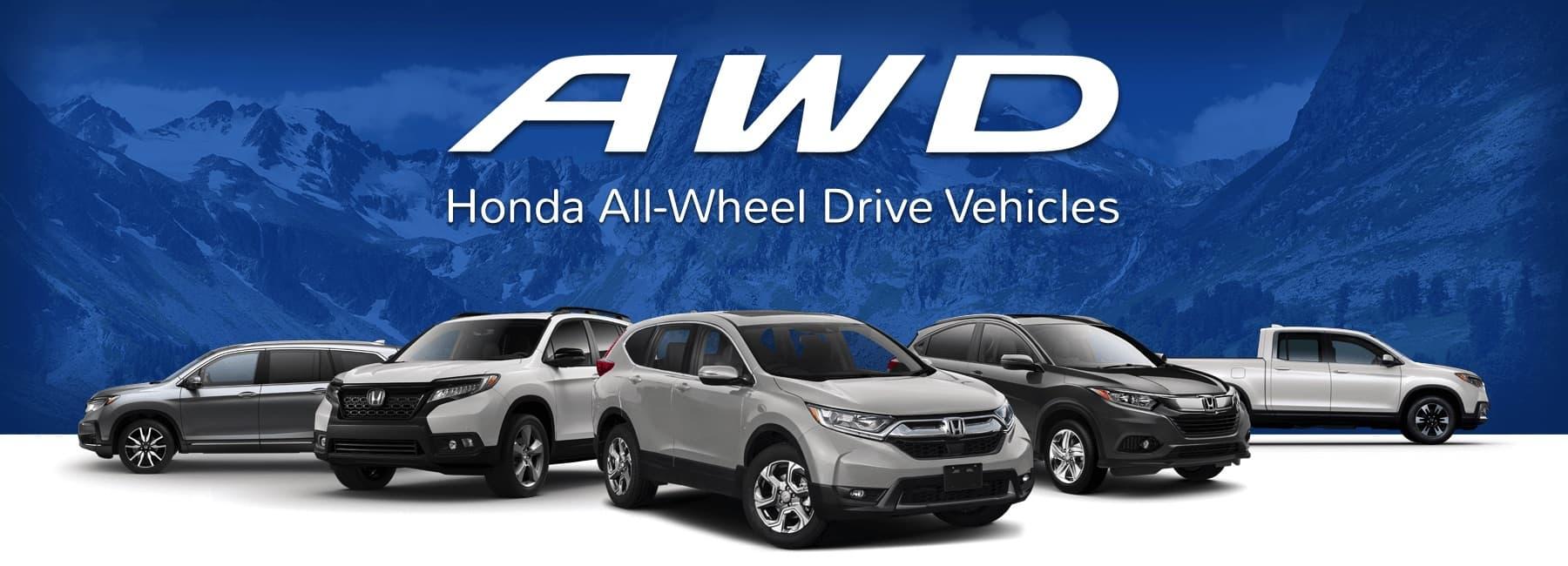 Honda's AWD Vehicles | HR-V, Passport, CR-V, Pilot | Capital