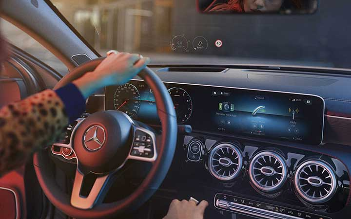 An all-digital dash. That responds to your digits.
