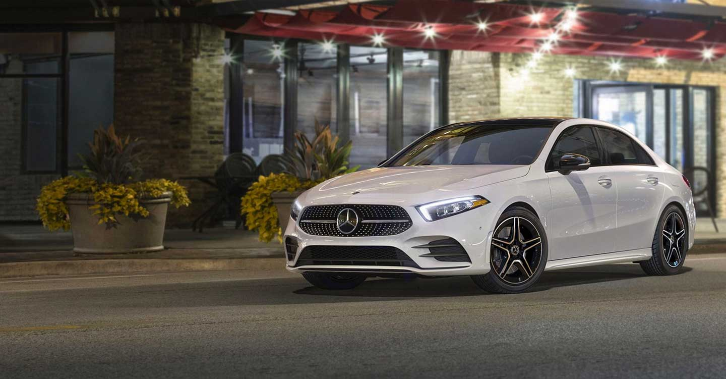 The 2019 A-Class Sedan