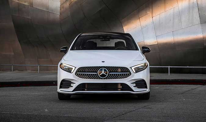 The 2019 A-Class Sedan 2