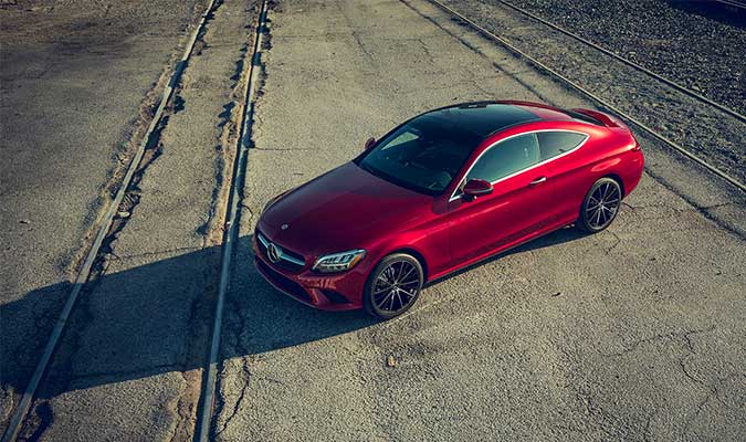The 2019 C-Class Coupe 8
