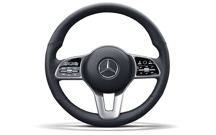 Steering-wheel touchpads put the world at your thumbs.