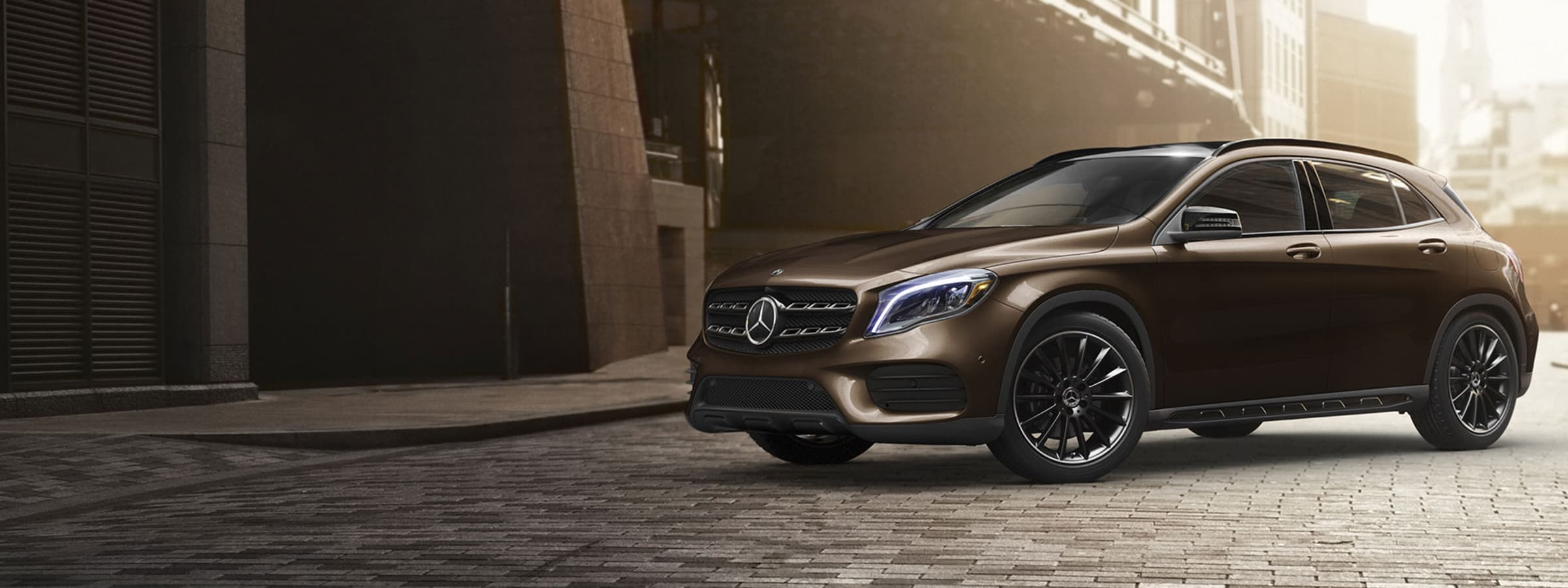 The 2019 GLA SUV