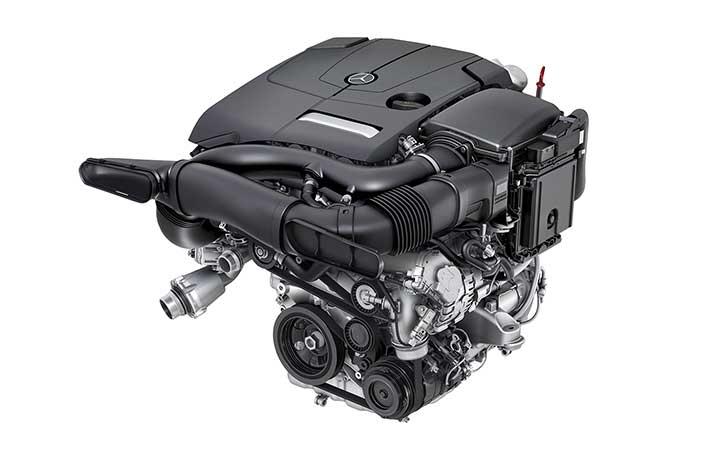 Deux turbos, neuf rapports, cinq modes de conduite