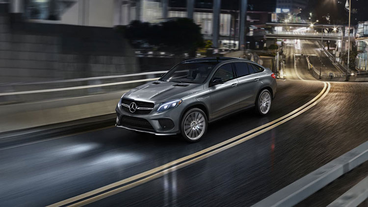 The strength of a Mercedes SUV, the seduction of an AMG coupe.