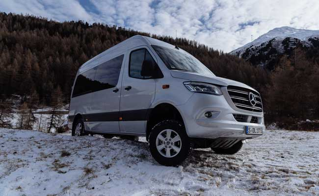 The 2019 Sprinter 4x4 Passenger Van 1