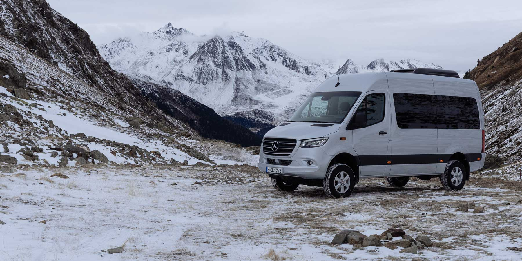 The 2019 Sprinter 4x4 Passenger Van