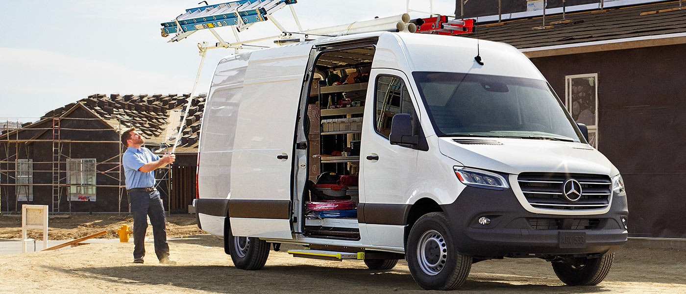 The 2019 Sprinter Cargo Van